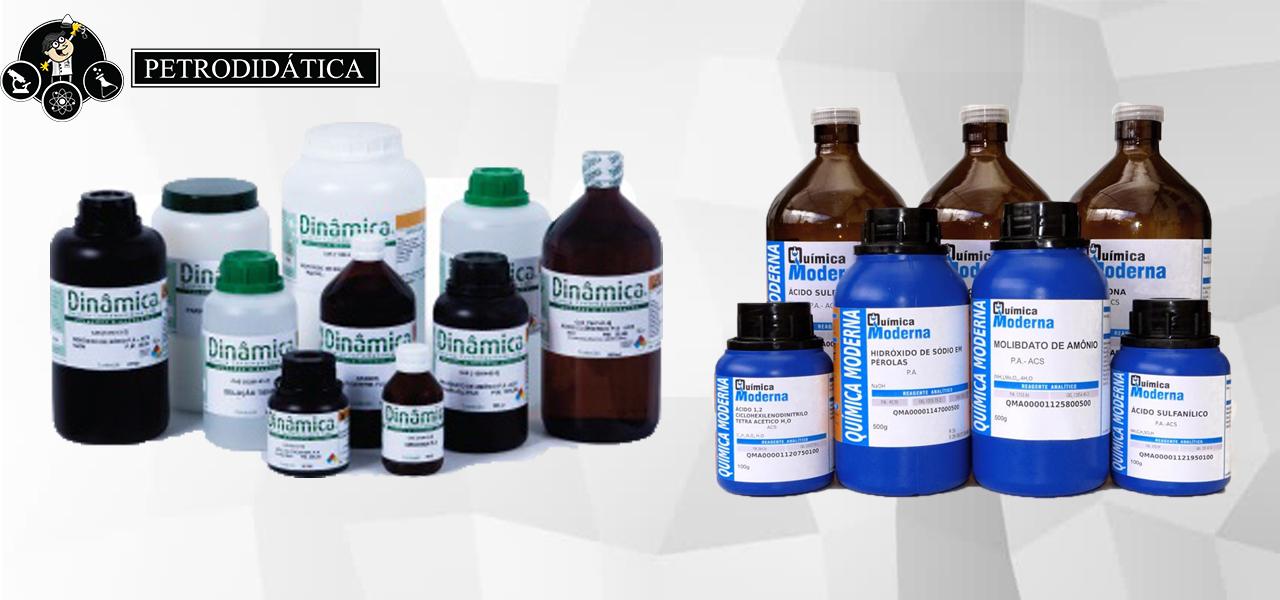 Reagentes e Soluções